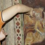 Il restauro degli affreschi di Vigoleno: far rivivere il Medioevo