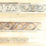 bozzetto per fascia decorativa