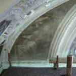 angelo con punteruolo prima del restauro