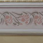fascia decorativa con finta cornice