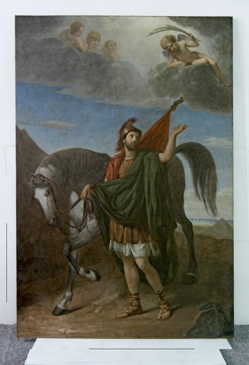 il dipinto dopo il restauro