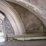 angelo con pialla prima del restauro