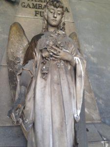 degrado della statua