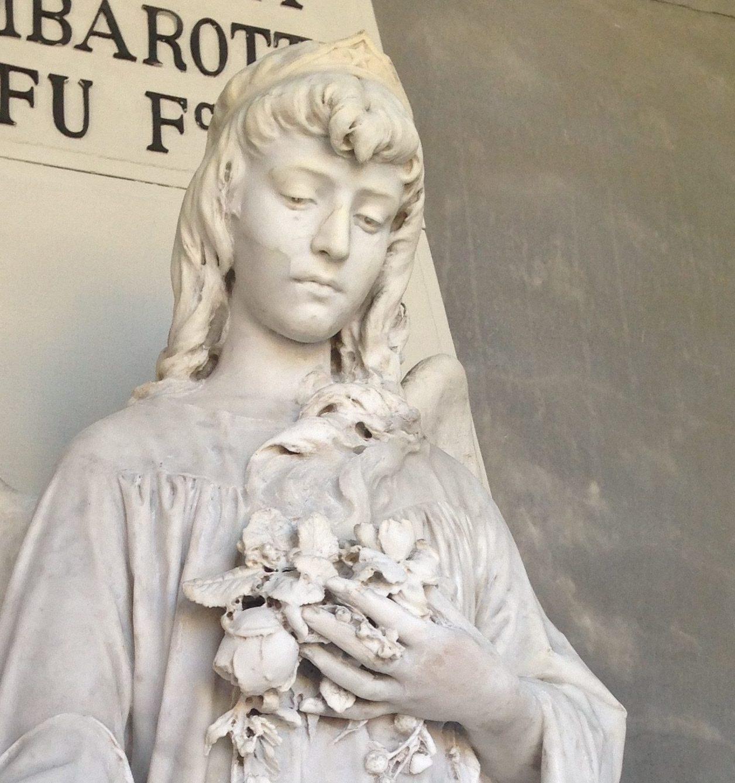 Una Statua in Pietra: il restauro