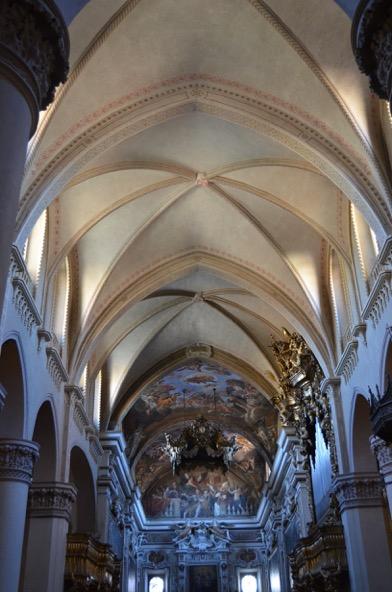 Basilica di Sant' Antonino: il restauro delle volte.